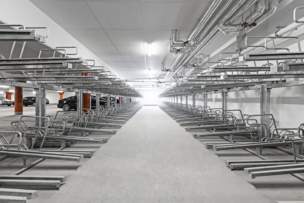 Egen design och bygg - Axelent_Safe-X_cykelställ